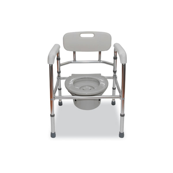 Aluminum Foldable Commode Chair
