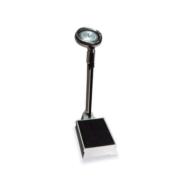 Weighting Scale With Height Rod