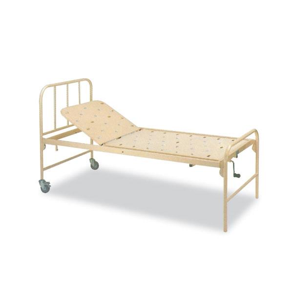 Manual Crank Bed Steel Single Fowler Bed