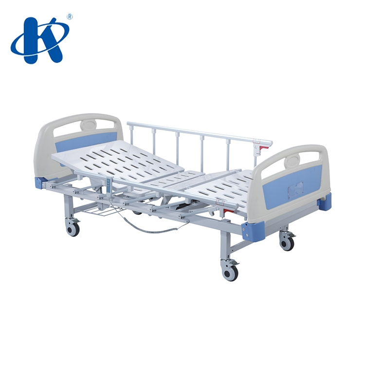 Manual Crank Hospital Bed Double Fowler