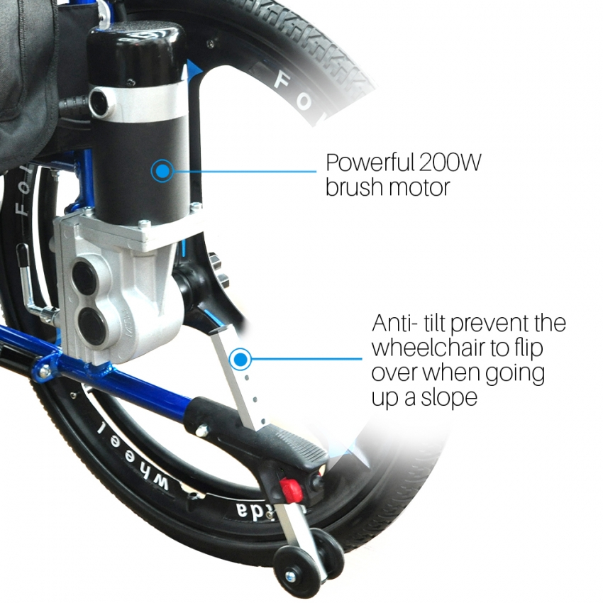 Hybrid Power Wheelchair