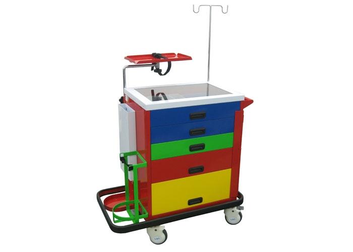 Medical Defibrillator Cart