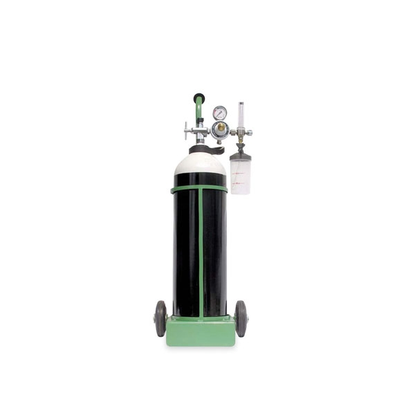 Oxygen Therapy  Set with Trolley
